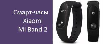 Смарт-часы Xiaomi Mi Band 2