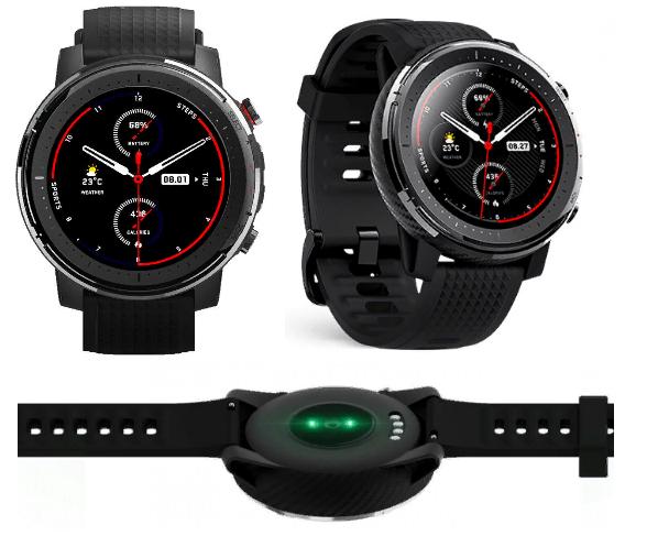 Смарт-часы Xiaomi Amazfit Smart Sports Watch 3 (Stratos 3)