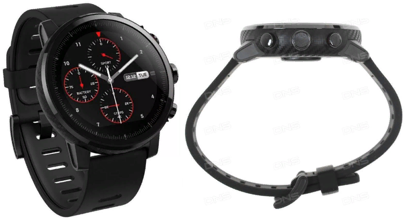 Смарт-часы Xiaomi Amazfit Smart Sports Watch (Stratos) 2 и 1