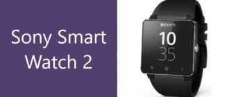 Смарт-часы Sony SmartWatch 2