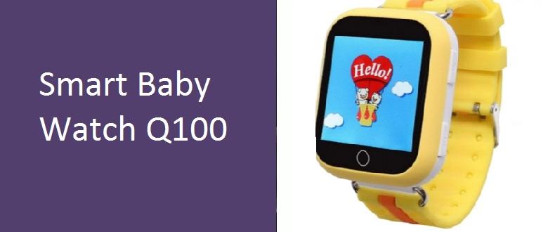 Обзор смарт-часов Smart Baby Watch Q100