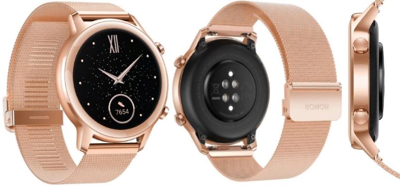 Умные часы Honor Magic Watch 2 42 мм (золотой)