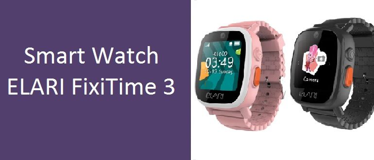 Smart Watch ELARI FixiTime 3