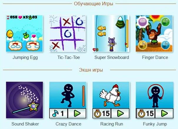 Детские Умные часы VTech Kidizoom Smartwatch DX - игры